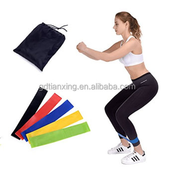 Best Price 5 Levels Mini bands Fitness Latex rubber resistance loop bands for Exercise