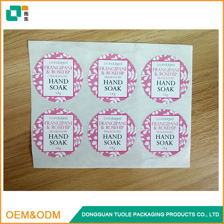 A4 size adhesive colored printed label sticker paper