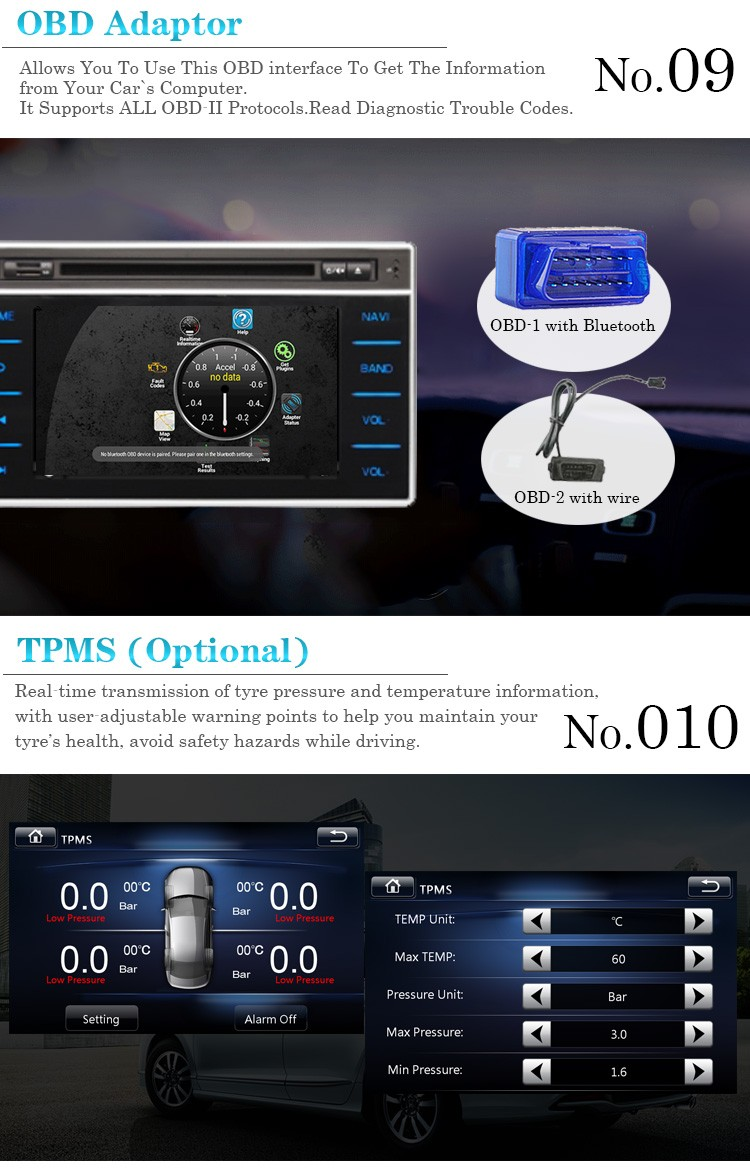 7 inch car dvd gps navigation system android 6.0 octa-core car radio for Audi TT 2006-2014 with built-in 3g&wifi
