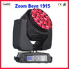 NEW!!! B Eye K10 Zoom 19x15w professional moving head rotating stage light