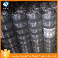 Goat and lamb woven farm wire mesh fence/ Stainless steel cheap temporary farm fence export to Australia /New Zealand/USA