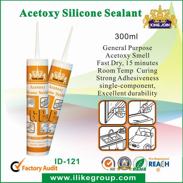 dow corning quality acetic silicone sealant (Kingjoin ID-121)