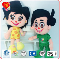 Wholesale custom plush stuffed doll life size plush doll baby girl toys plush doll(PTAL0816142)