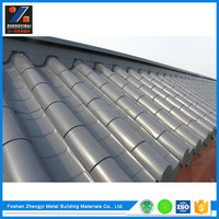 Professional Designer Anti-corrosion Pvdf Coated Metal Roofing Tile