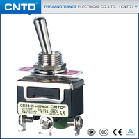 CNTD Good Products Tab Terminal Waterproof Oiltight Toggle Switch c513B