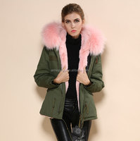 exporter own factory provide OEM service parka army woman products in the world wide