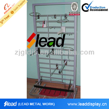 pegboard display hook for chocolate , metal hook display stands for candy