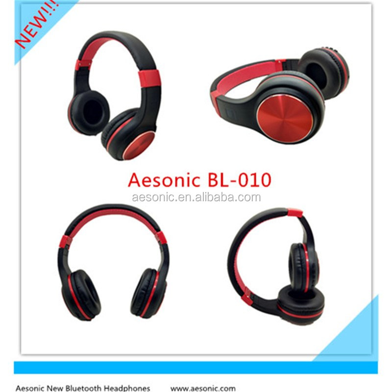 3.5mm Connectors and Mobile Phone Use Communication Stereo Bluetooth 4.0 Headset With Mic, Memory Cards And FM Radio