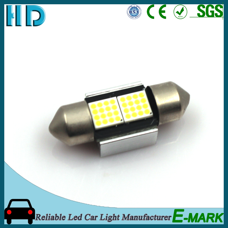 t10 canbus 6060 led light 12V CANBUS car width lamp car led light with cheap price