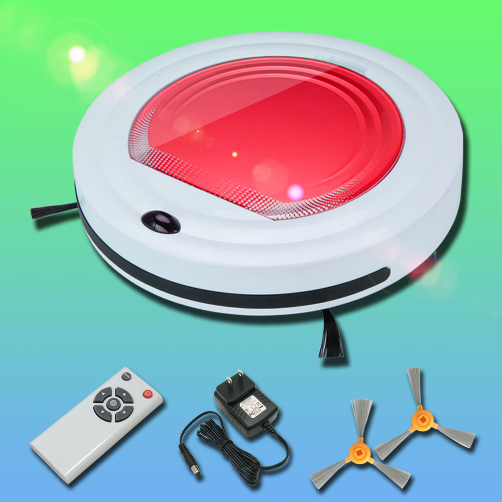 Factory Wholesale New Automatic Intelligent Robot Vacuum Cleaner Ash Aspirateur with A Big Mop