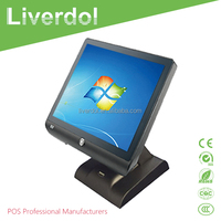 LV-3800 True Flat Capasitive Touch Pos system with High quality Screen