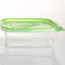 Chaofan Disposable Attached-Lid Storage Food Grade Plastic Container