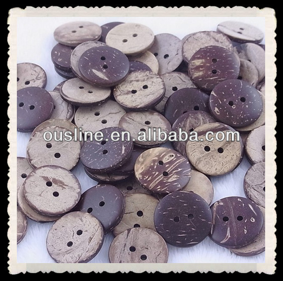 coconut shell buttons,DIY garment accessory buttons