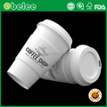 Disposable coffee cups for Amazon Ebay paper cup with lid and sleeve