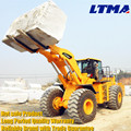 LTMA stone handle loader 26 ton forklift loader with best price