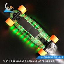 2AH Battery cheap 4.06kgs N.W 4 wheel electric skateboard longboard