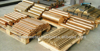 Copper alloy, bronze round bars and tubes