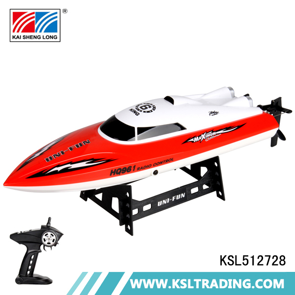 Wholesale 2.4G rechargeable high speed plastic rc ship toys for sale