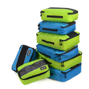 High Quality acking Cubes Packing organizers Breathable Nylon Travel Duffle Bag Men Women Travel Luggage Organizer Cube Set