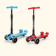Foldable child scooter kick 3 wheel scooter for kids with led lights