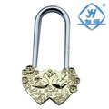 YH1027 Factory wholesale chinese Mandarin Duck love brass padlock for pendant