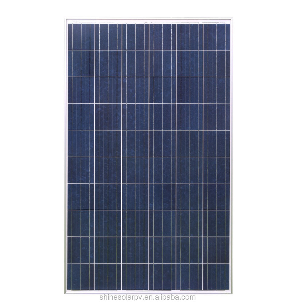 High Quality Poly 250W solar panel with best price per watt solar panels