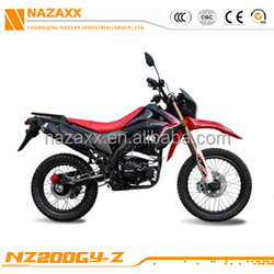 NZ200GY-Z 2016 New 200cc Excellent Cheap Fashion Hot Sale Off Road/Enduro/Doble Proposito/Enduro Motorcycle/Motocicleta