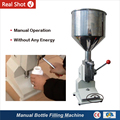 A03 Hand Operated Small Manual Bottle Filling Machine