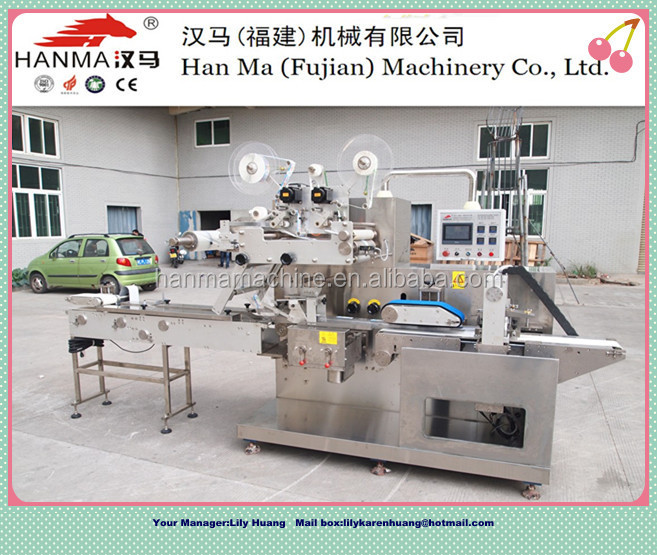 semi automatic wet tissue packaging machinery product line