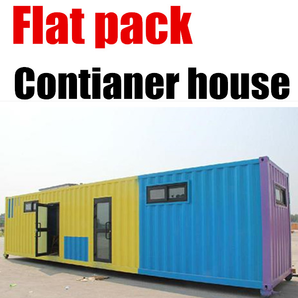 Military House Low Cost Finished Portable Container Houses