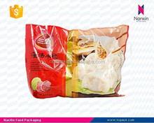 custom design frozen food resealable packaging bag