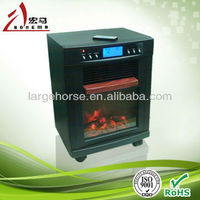 New product for 2012| Romote control fireplace / electrical fan heater/PTC heater