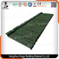 New Construction Steel Material Coated Granules Roof Tile Edging Of Whole Roof System