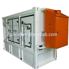PHY-145 Custom made electronic sheet metal box enclosure fabrication