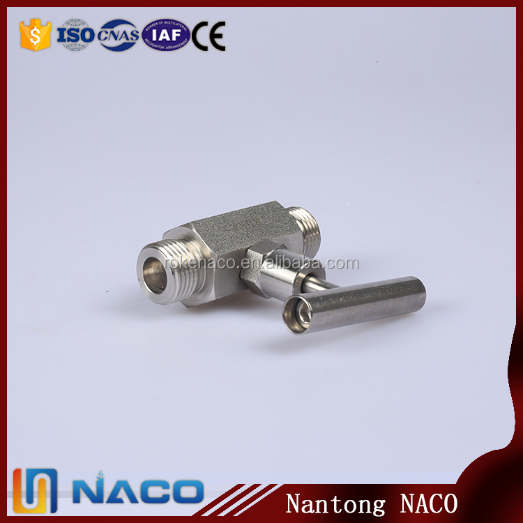Online Shopping 1/4 O.d. Ss316 Male Gas Needle Valve