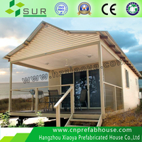 Favorites Compare wholesale economical cheap modern two bedroom steel frame sandwich panel prefabricated house