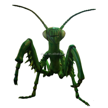 Outdoor Insect Theme Park Big Robotic Insects Models