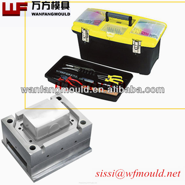 custom design tool kit mould/tote box mould/tool chest mold in taizhou