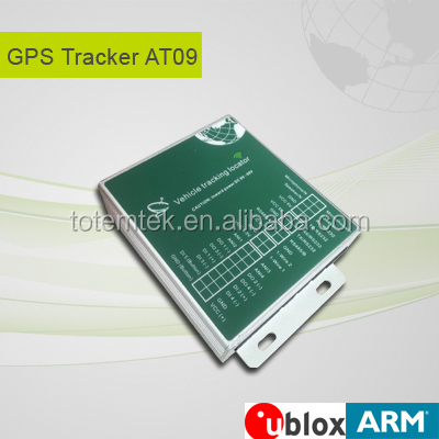 hot fleet management solutions AT09 gps tracker RFID reader temperature sensor