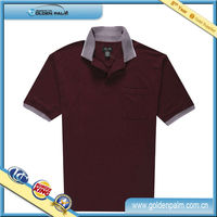 Wholesale Mens Knitted Indigo Polo Shirts