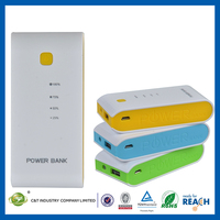 C&T 5600mAh External Power Bank Battery portable chargers for mobile