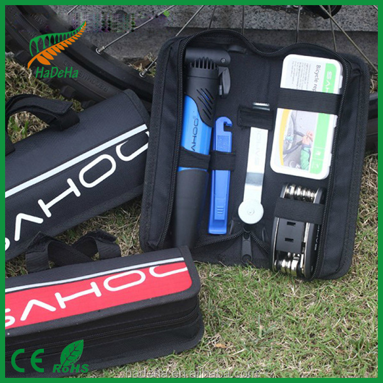 Competitive price bike repair tool,Mini cheap auto repair tool box set,Nice quality Bicycle Repair Tool Set/bicycle repair tools