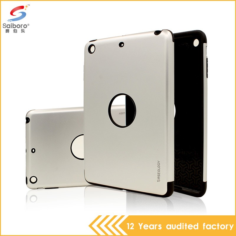 Wholesale bulk cheap shockproof tpu+pc case for ipad air 2