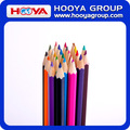 wholesale cheap paper tube wooden custom color pencil