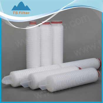 Ultrafiltration Membrane Polyethersulfone Pleated Filter Cartridge