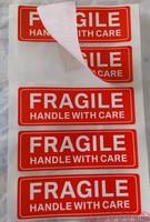fragile label warning stickers mark return address label Printing
