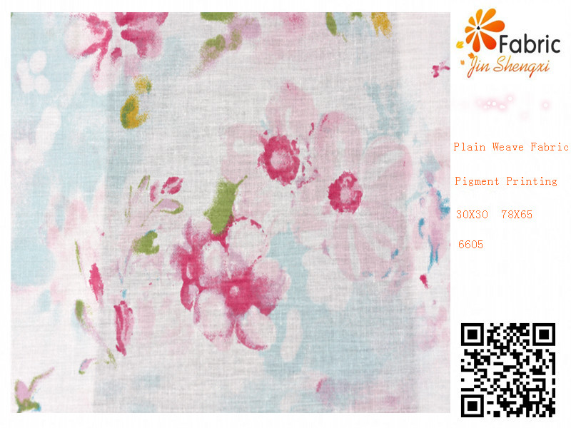 6605 hangzhou 100% cotton plain weave fabric money print