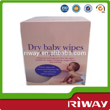 Wholesale 100cts disposable Baby Skin Care Baby Dry Wipes