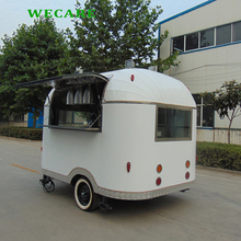Customized mobile ice cream burger street food cart for sale