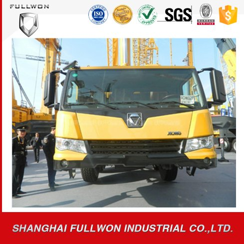 80T truck mounted crane with low oil consumption